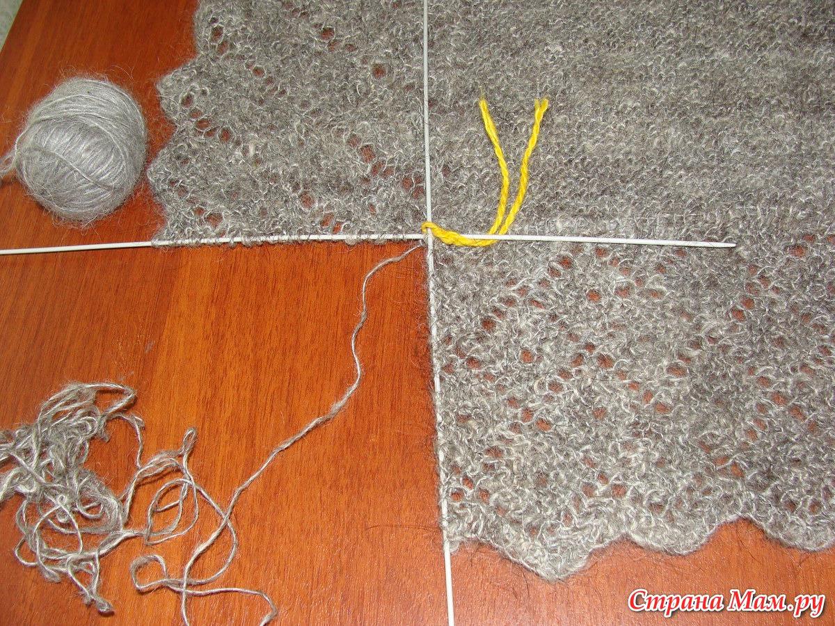 Вязание косынок своими руками