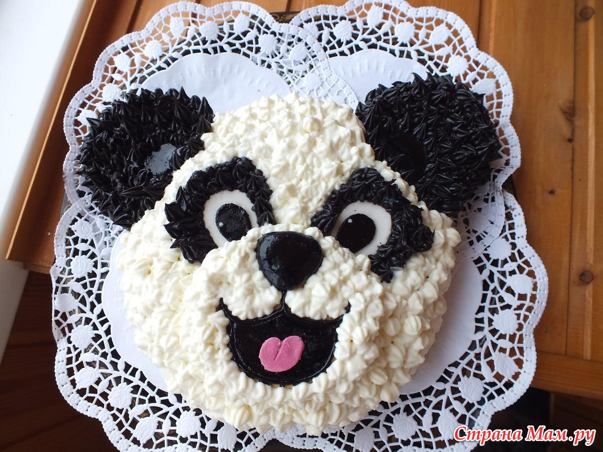 Украшение тортов в домашних
