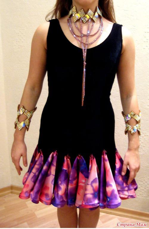 Как сшить юбку для девочек для бальных танцев