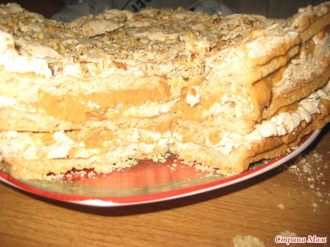 фоторецепт торт на скорую руку