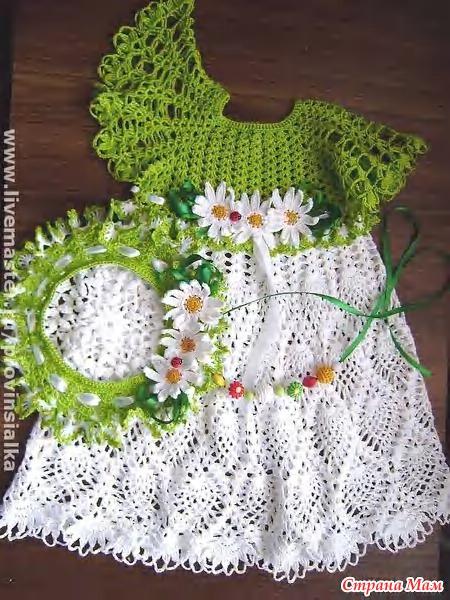 Красивое платьице для девочек!!! - Вяжем вместе он-лайн ...