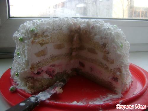 Вот такой тортик на годик.
