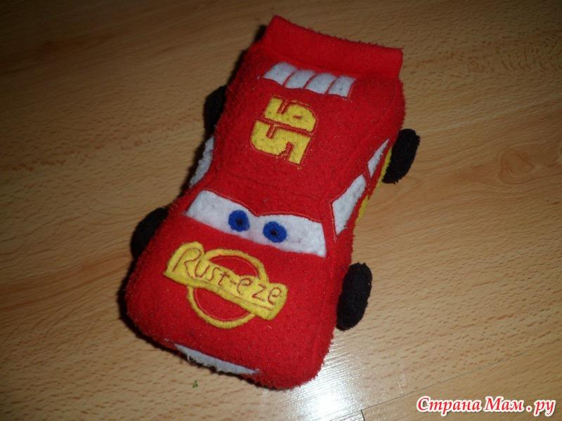 Машина мягкая своими руками 91