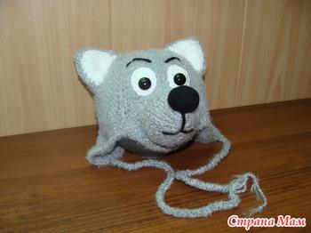 Шапочка-волчонок - Вязание - Страна Мам
