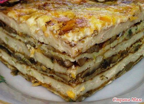 Закусочный торт «Княжеский»