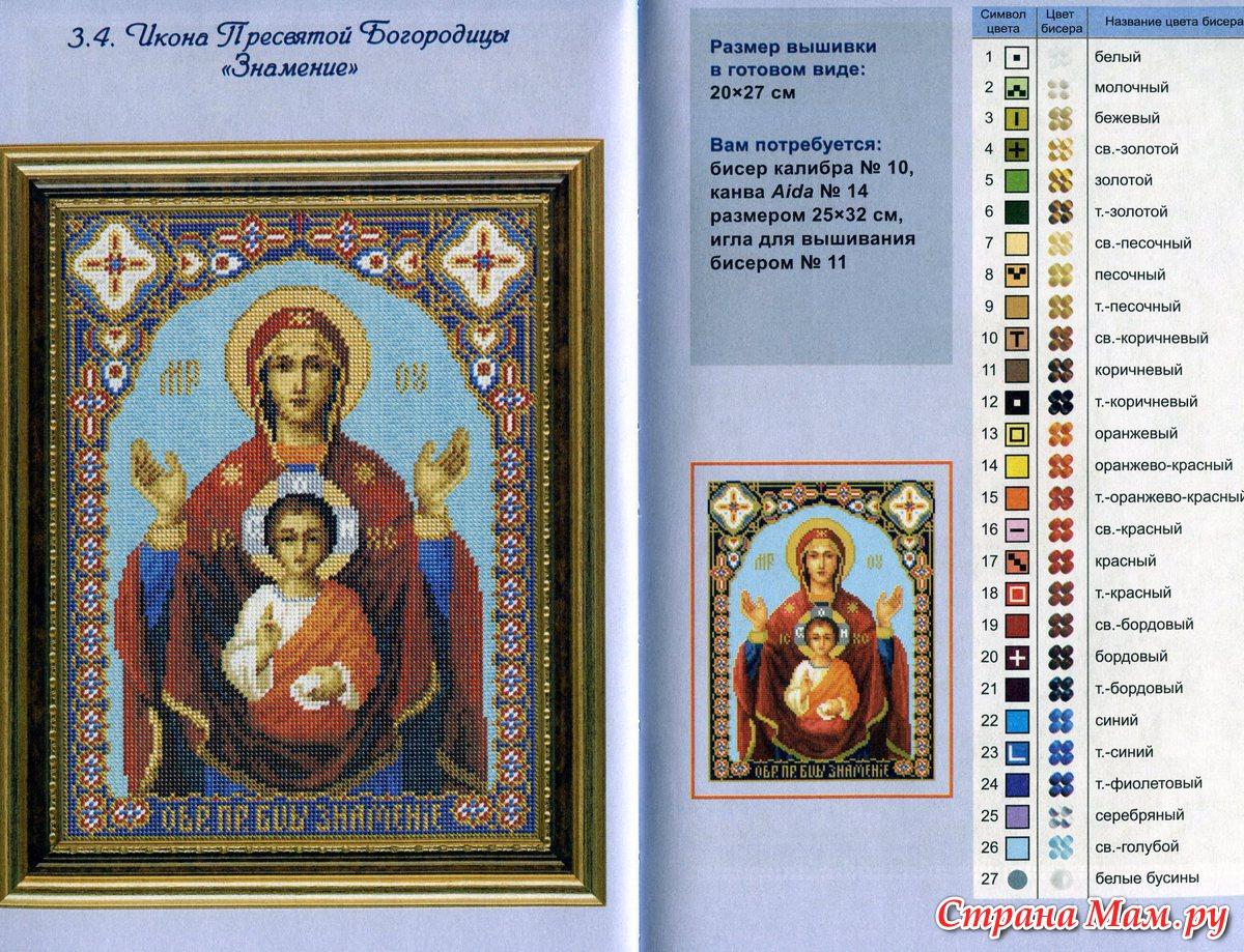 Молитвы для вышивки икон 152