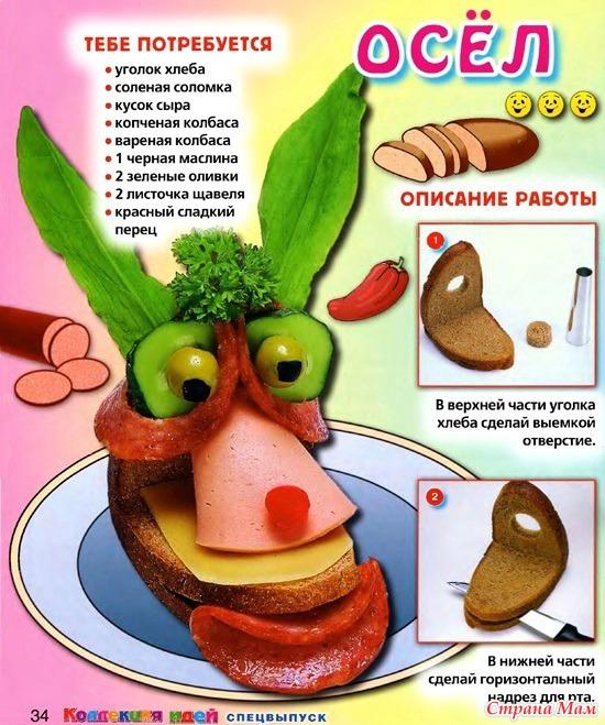 Полезные бутерброды для детей рецепты с фото