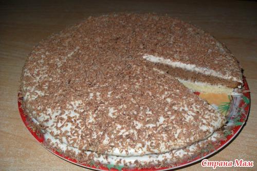 торт шоколадник пошаговый рецепт с фото