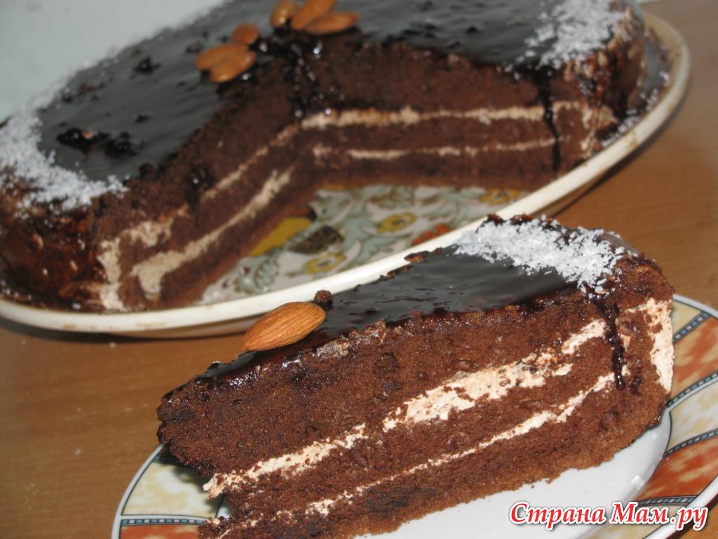 Торты пирожное торт шифоновая прага