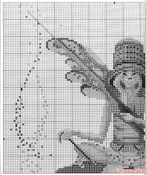 Вышивальная фея. схема