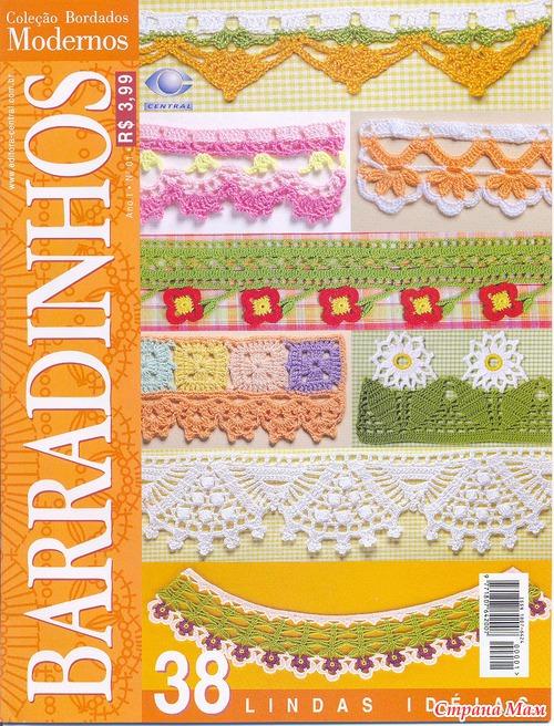 Схемы вязания бордюров крючком