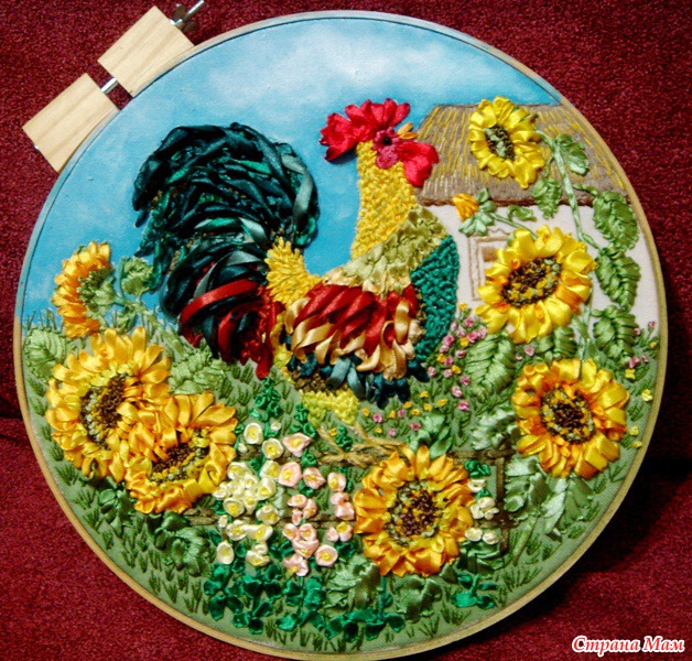 Набор для вышивки крестом Символ года Петуха - Вышивка. укр
