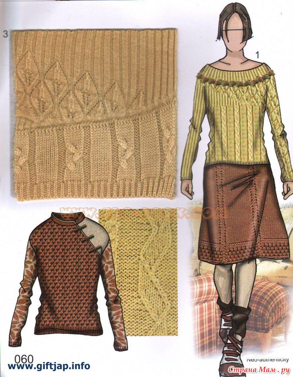 Модные направления в вязании