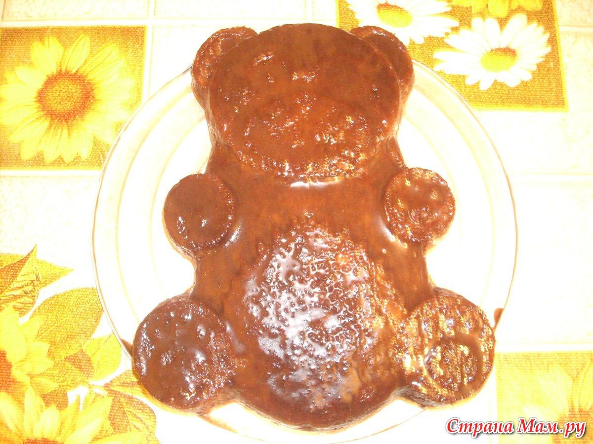 Торт мишутка рецепт готовим дома