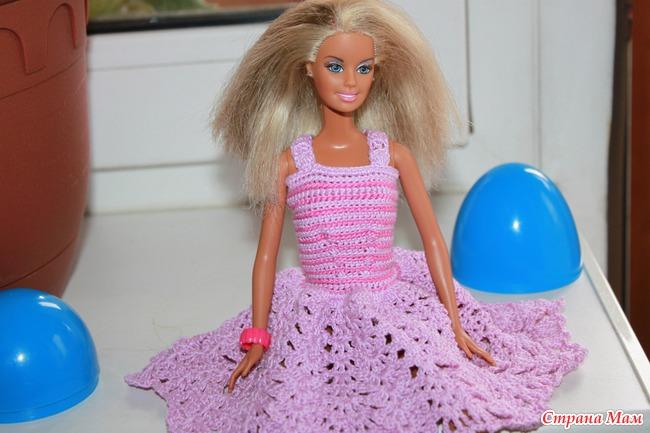 Платье для Барби: выкройки и