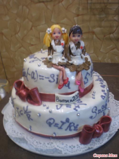 торт на выпускной вечер фото