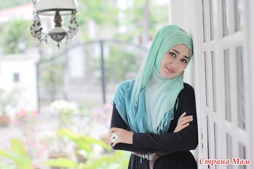 Красивые в поронже мусульманки фото 84-309