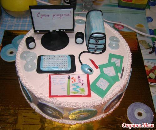 Торты для подростков фото