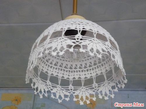 Ажурный абажур - Вязание