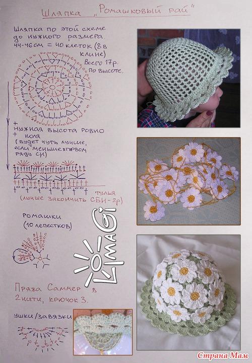 Комплект с цветочками для пятилетней малышки