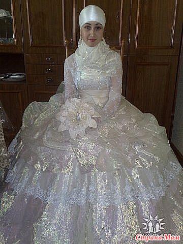 Махачкала мусульманские свадебные платья