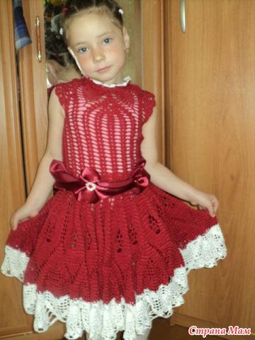 Платье на выпускной в садик)