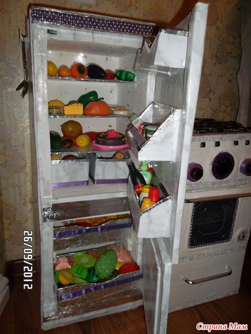 Игрушка холодильник своими руками 2