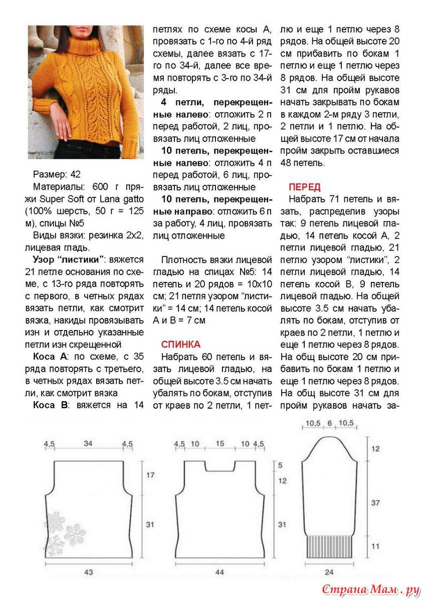 Вязаные женские кофты спицами со схемами описанием фото 2018 69
