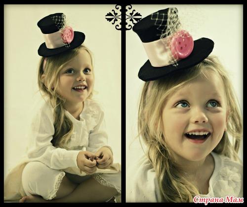 Маленькие шляпки сделать своими руками