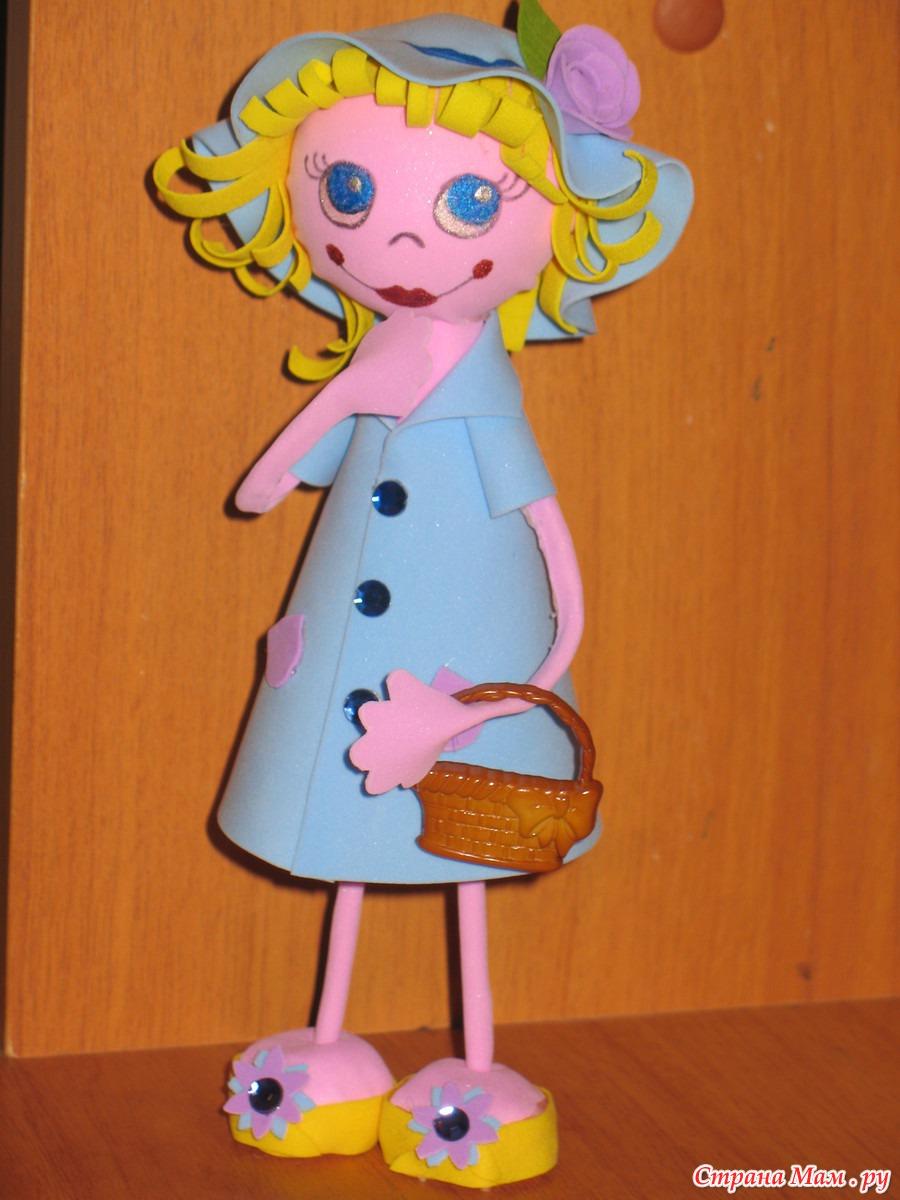 Куклы из фоамирана: фото мастер класс своими руками 37
