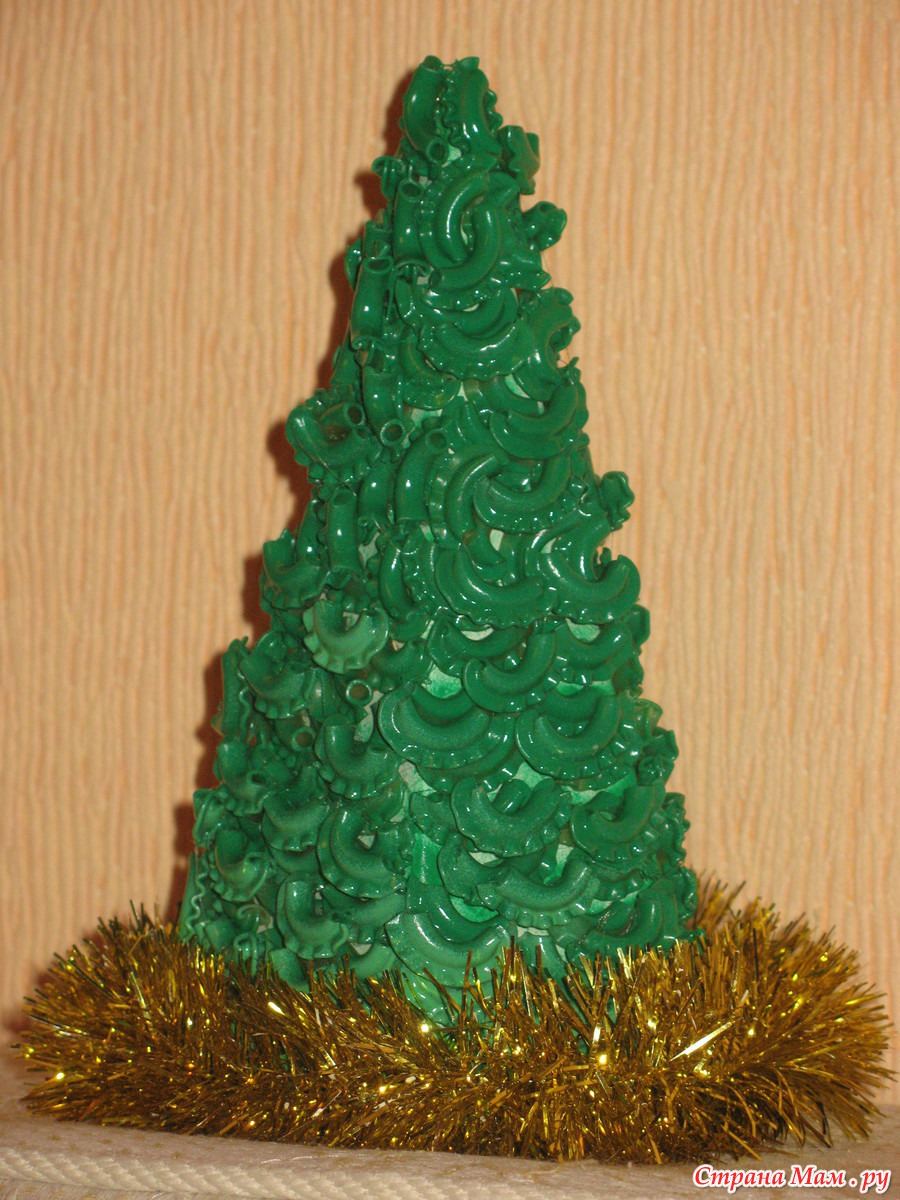 Поделки елки к новому году своими руками для детского сада