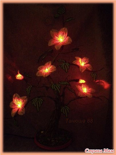 Светильники из бисера