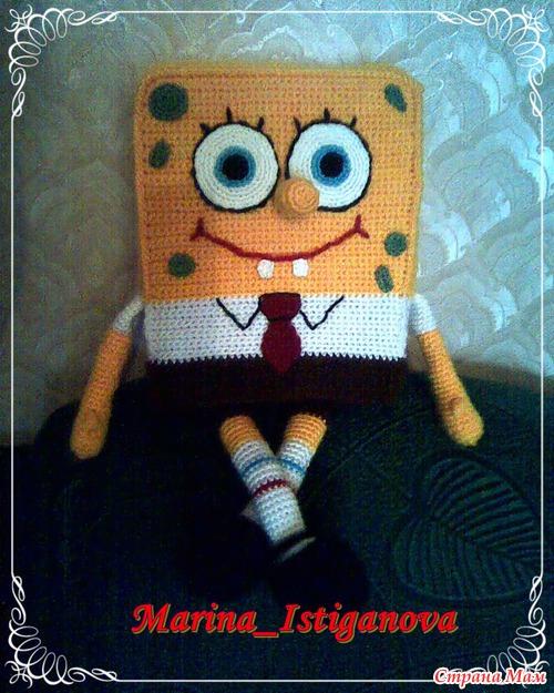 Моя новая игрушка - Губка Боб