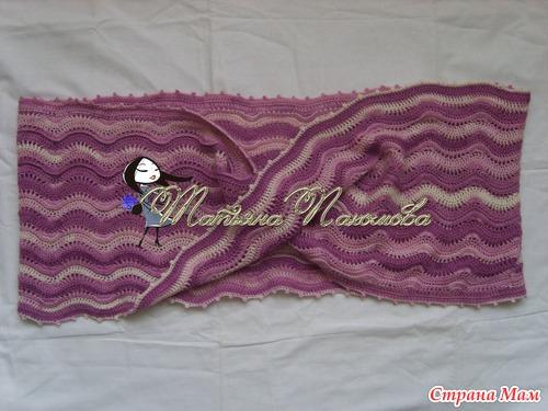 Сшить шарф как петля мебиуса 87