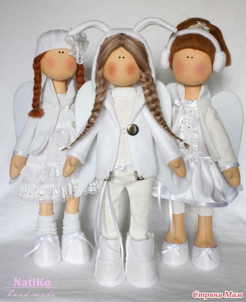 Куклы своими руками ангелочки из 146