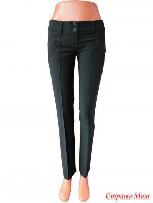 Женские брюки больших размеров на широкой резинке