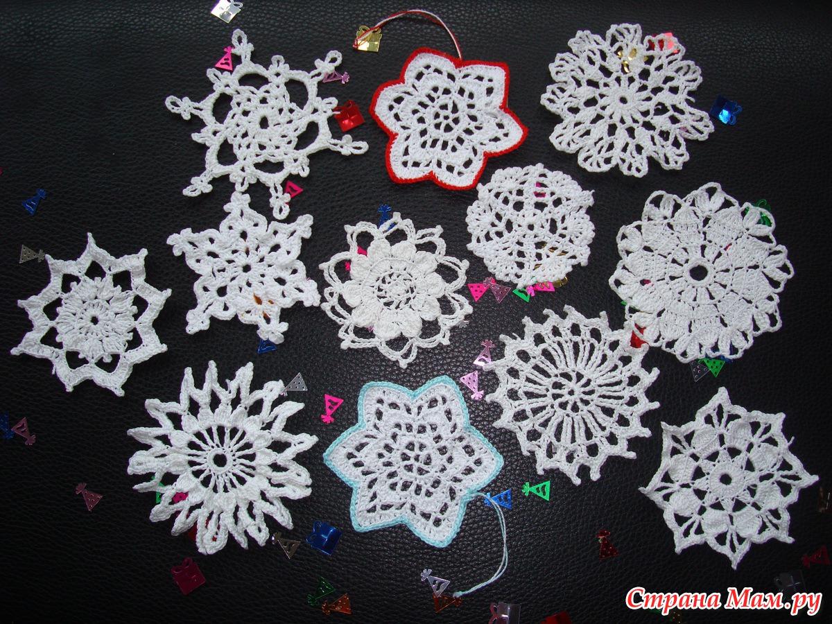 Снежинка своими руками оригинальные