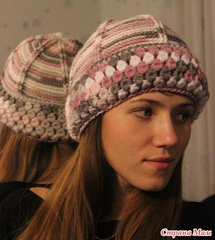 Теплая шапка для моей дочурки