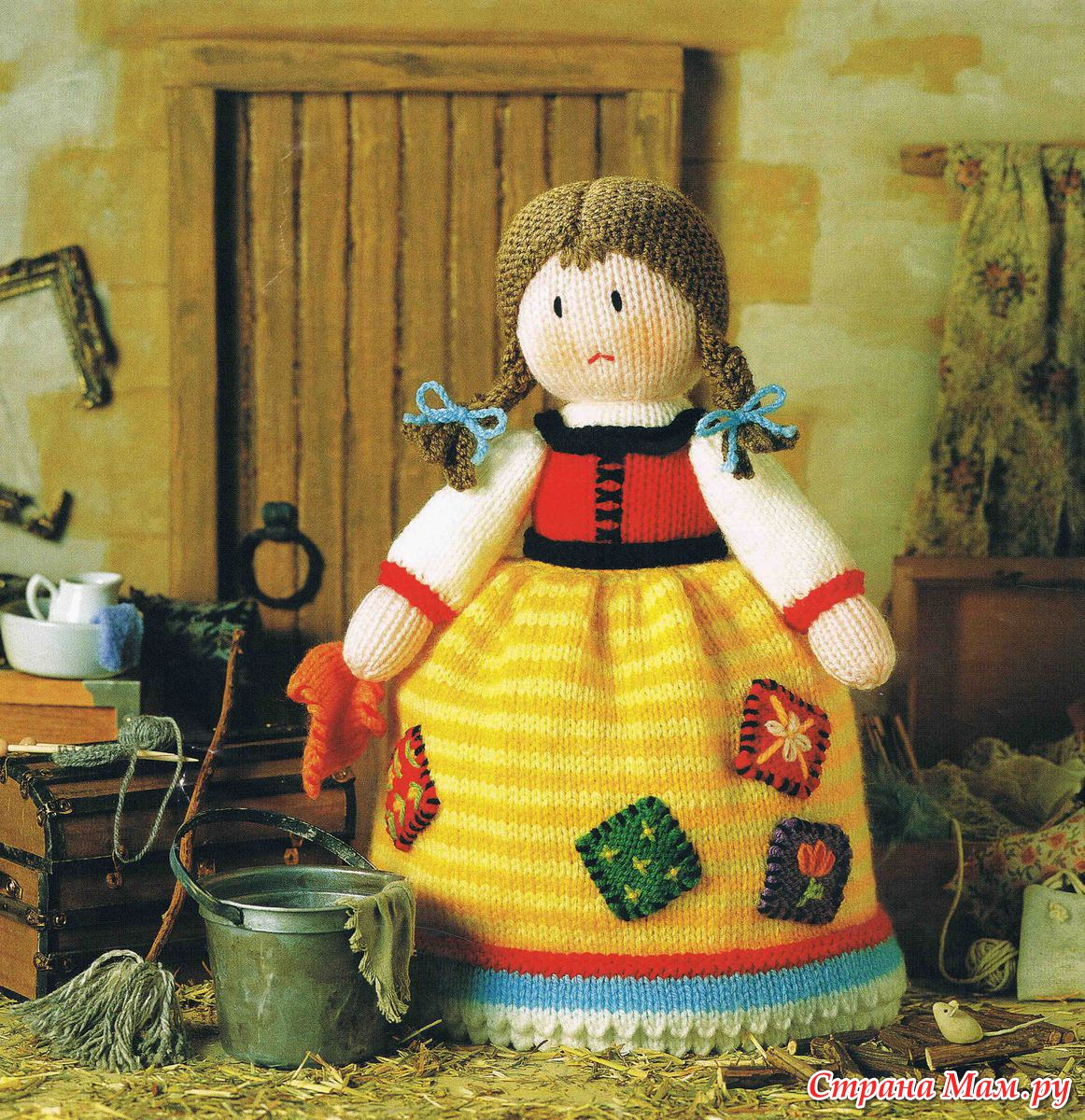Свяжем куклу-перевертыша онлайн? - Игрушки своими руками - Страна Мам