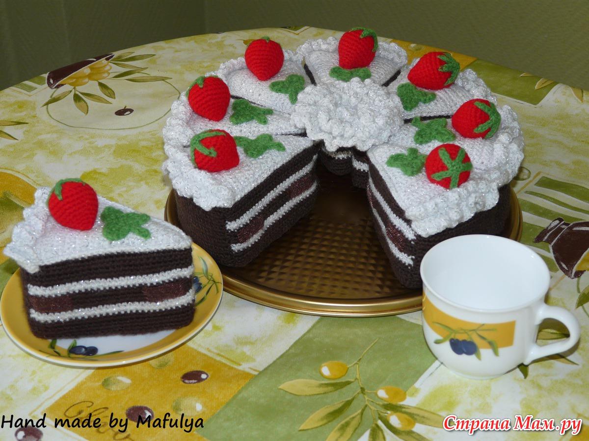 Торт мастер класс вязание 46