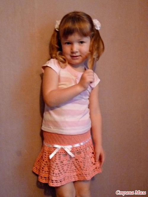 Как сшить юбку своими руками для малышки