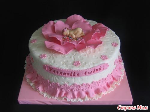 фото первый тортик
