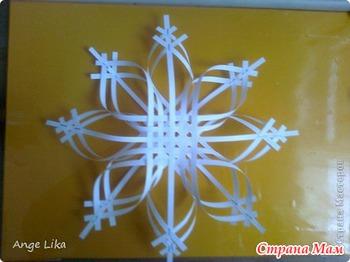 Сделать снежинки из бумаги своими руками объемную
