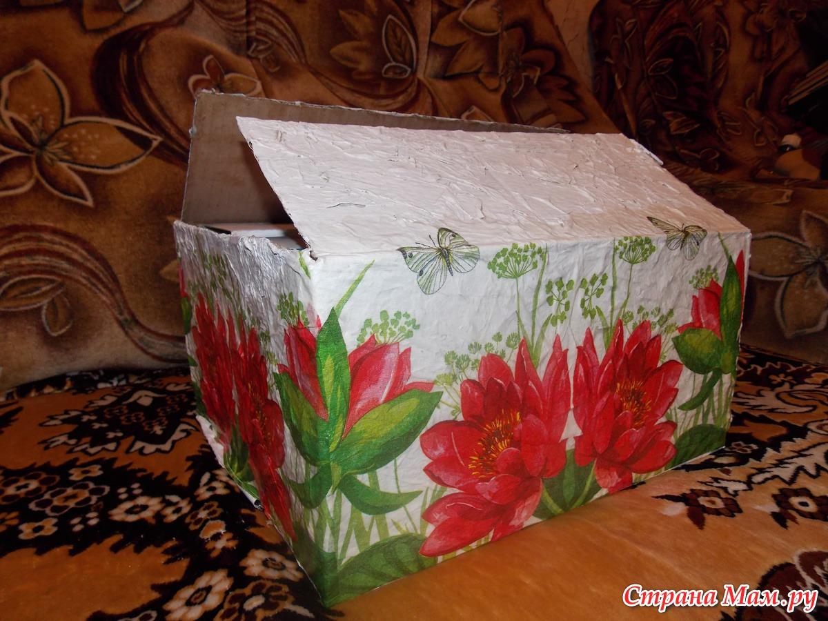 Что сделать из коробок от обуви Уютный дом 55