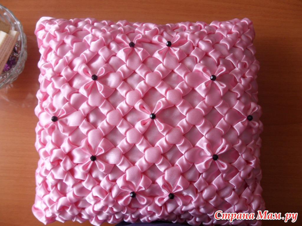 Как сшить буфы для подушки