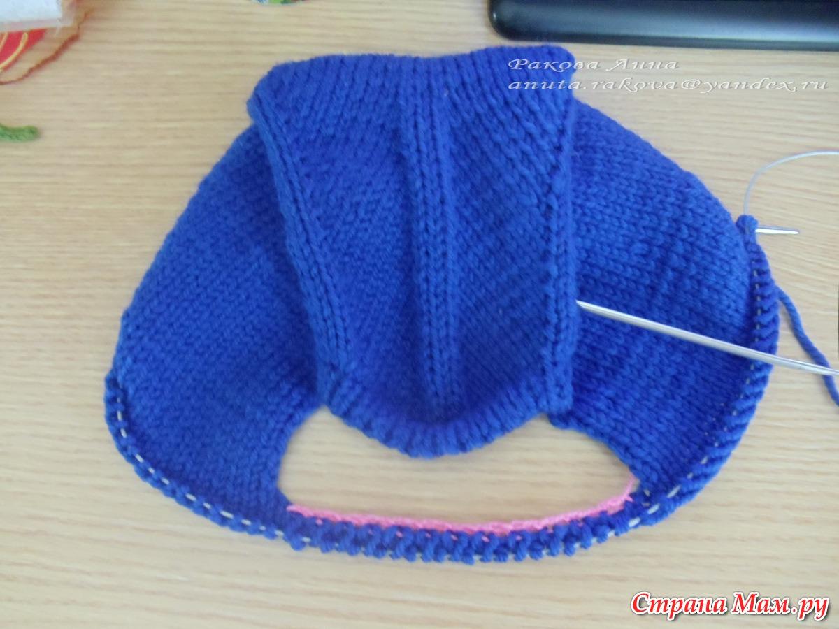 Вязание носков на 2 спицах. Схемы с