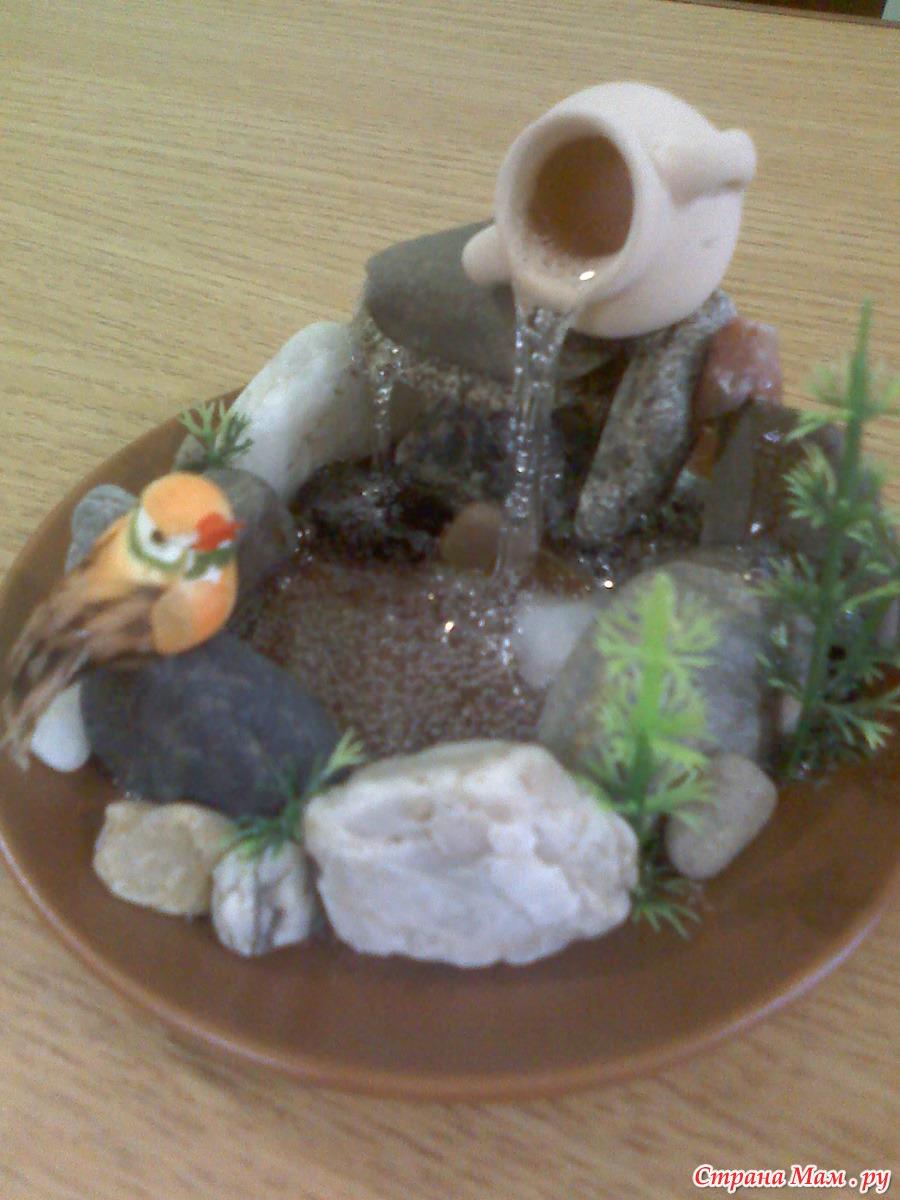 Поделка фонтан своими руками в детский сад
