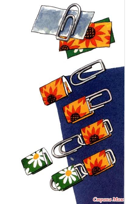 Как сделать штору из открыток