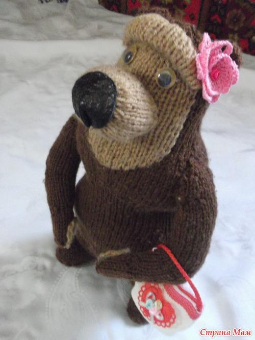 Медведицу из мультика маша и медведь