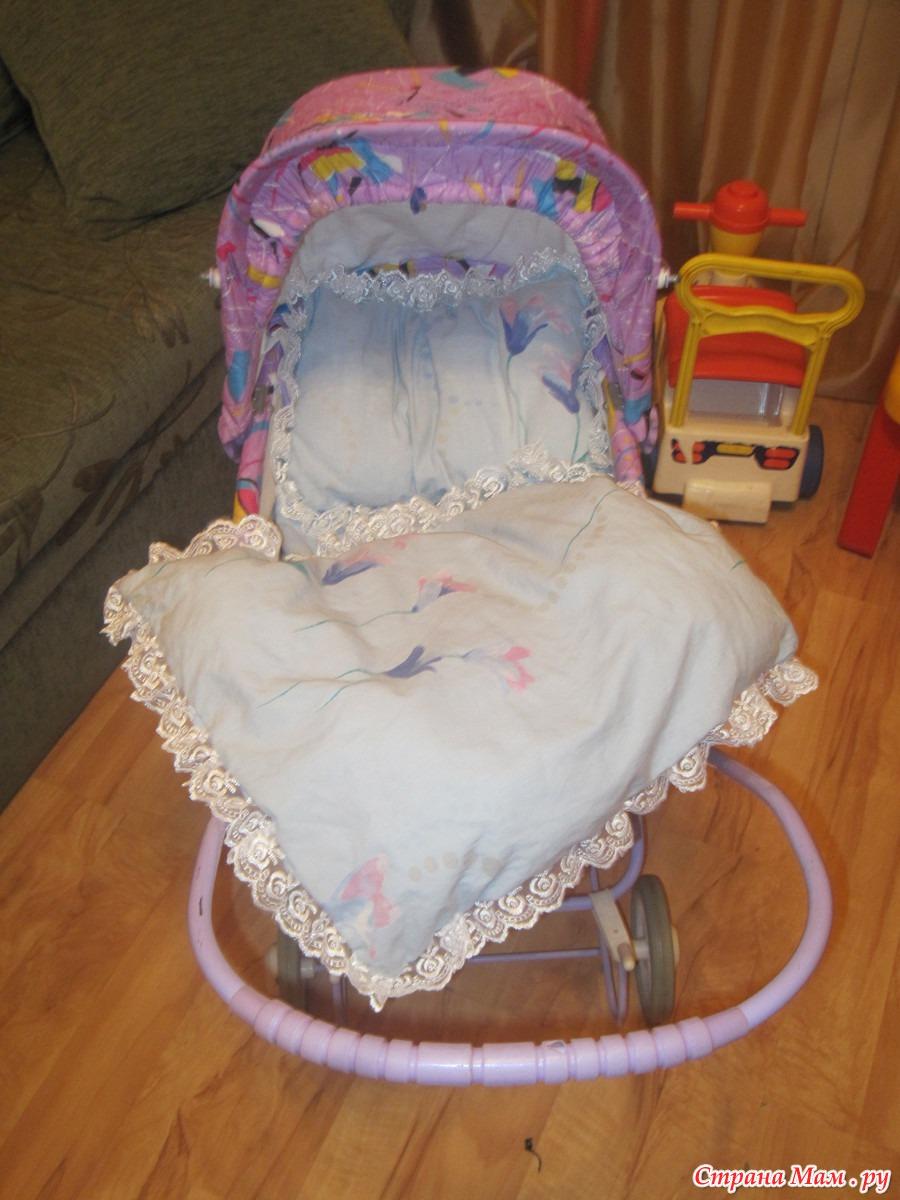 Новая жизнь кукольной коляски как перешить сиденье 79